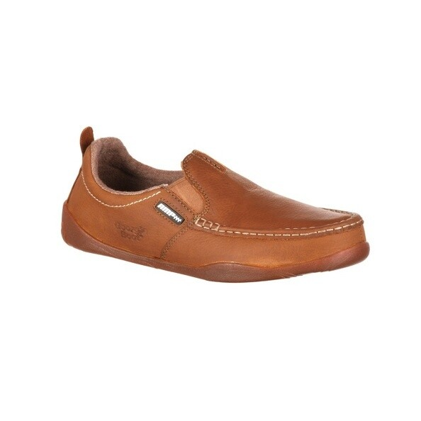 Georgia Boot Men Cedar Falls Moc-Toe Slip On Shoes