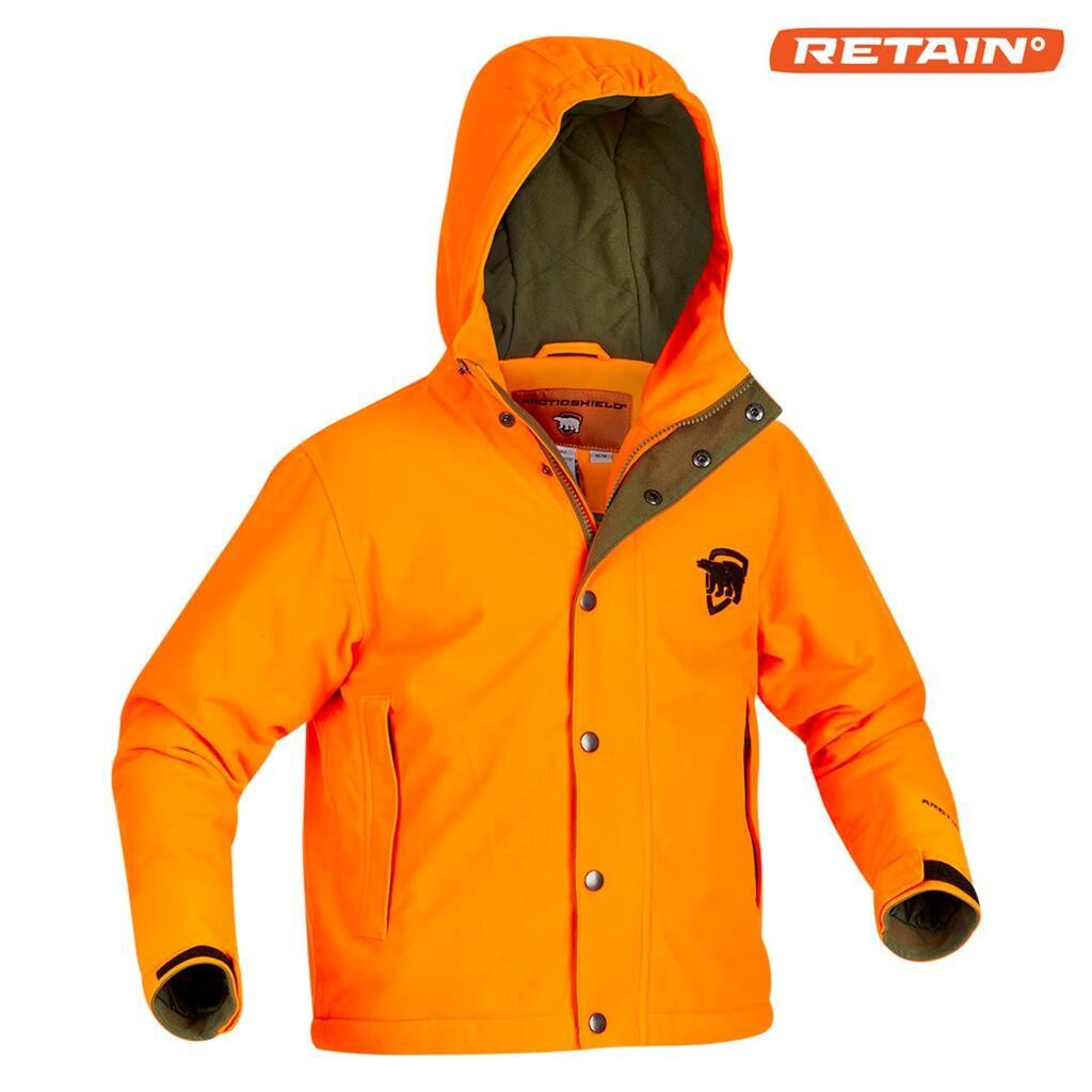 Youth Classic Elite Parka Blaze Orange Large