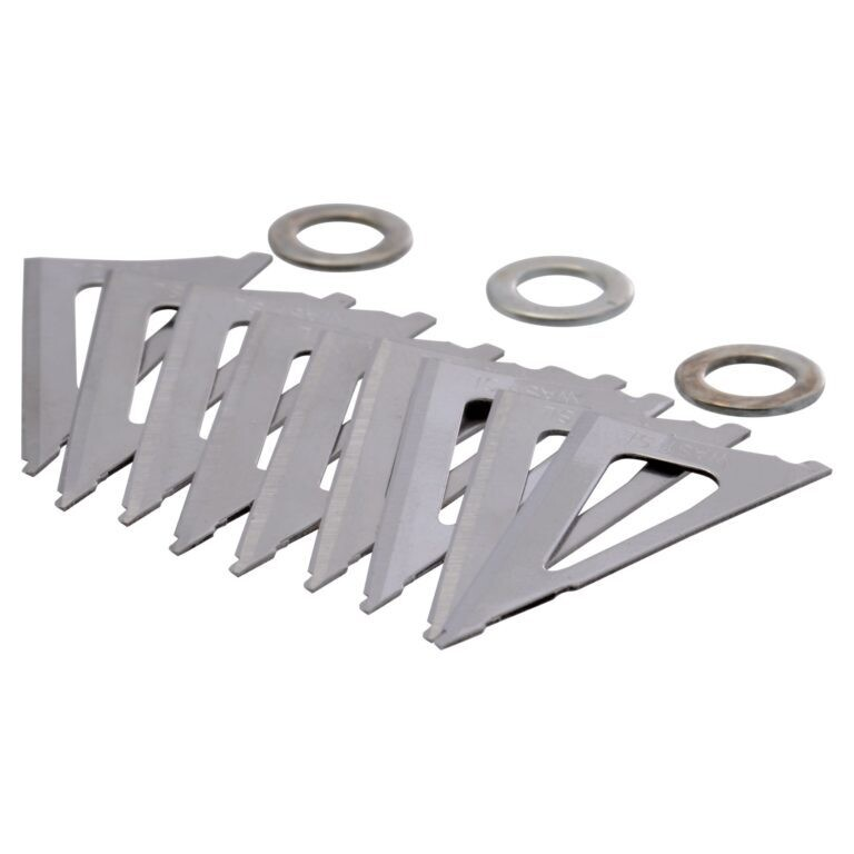 Wasp 7018 Boss 3 Blade 100 or 125  Gr Replacement Blades