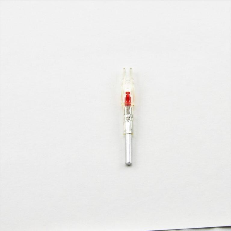 Vesta 2032 Lighted Nock, Red, Compound .245-.246
