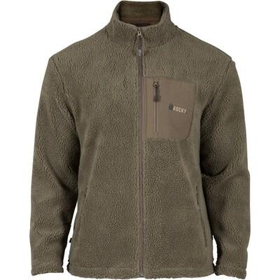 Rocky Berber Fleece Jacket, Green, HW00237