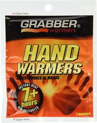 GRABBER MINI HAND WARMER, 2 PACK