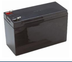 Universal UPG Sealed Lead-Acid Battery, AGM, 12V, 8 Amps, Model UB1280 (PC812)