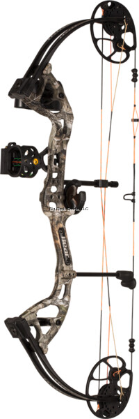 Bear Archery AV83B21007R Cruzer G2 RTH compound bow package RH 5-70lbs Realtree Edge