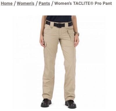 5.11 Tactical Women's Taclite Pro Pants
