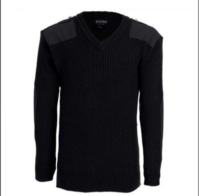 Tact Squad 2003 Men's Wool Commando V-Neck Sweater