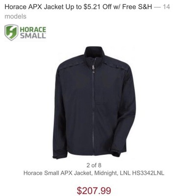 Horace Small APX Jacket