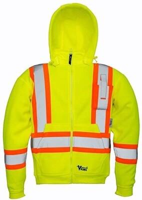 Viking Safety Yellow Hoodie