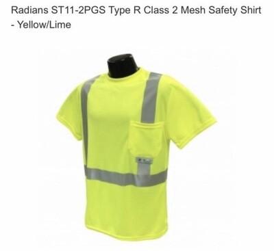 Viking Safety Yellow Shirt