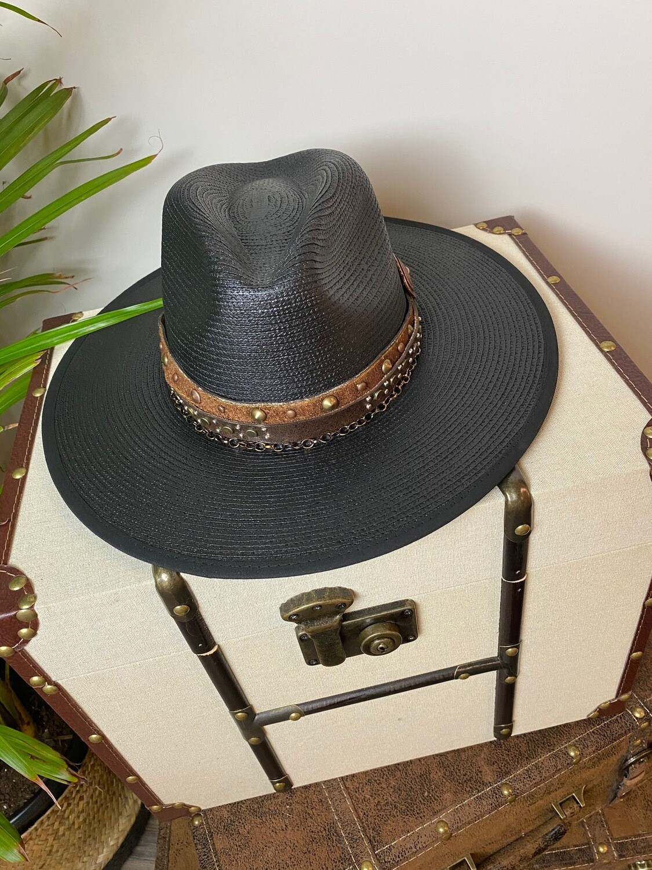 """Worth it"" Panama Style Hat"