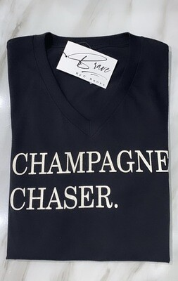 """""""Champagne Chaser"""" Sunday Funday Tee"""