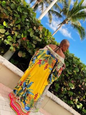 """Havana Nights"" Kimono"