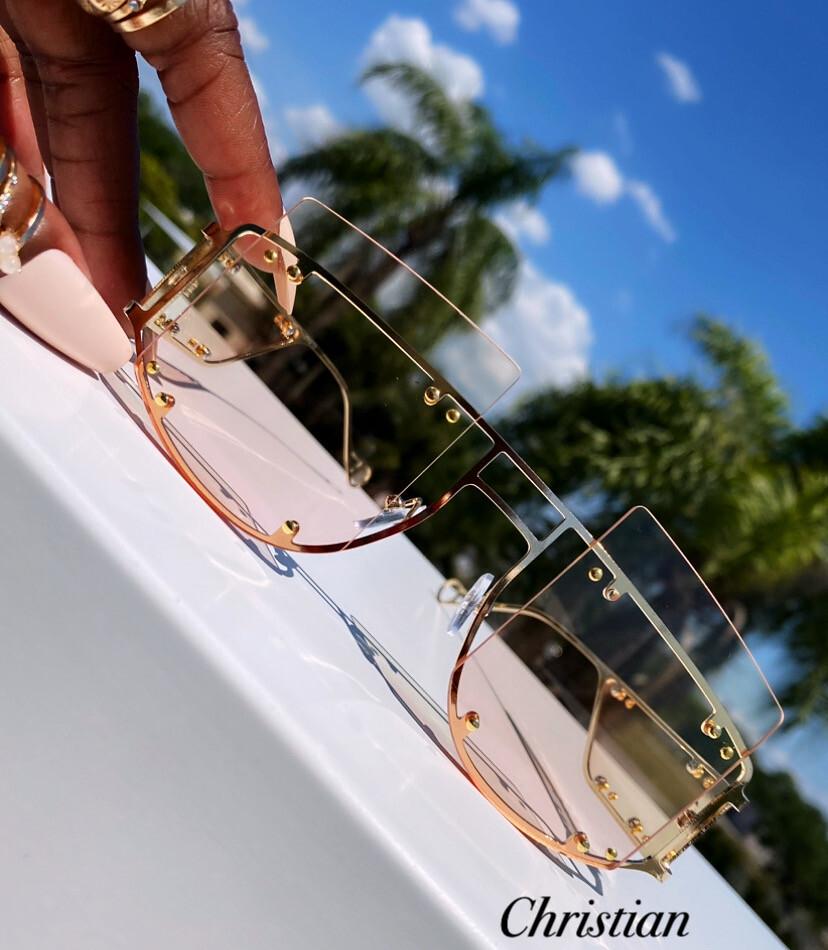 """The Dynasty"" Oversized Sunglasses"