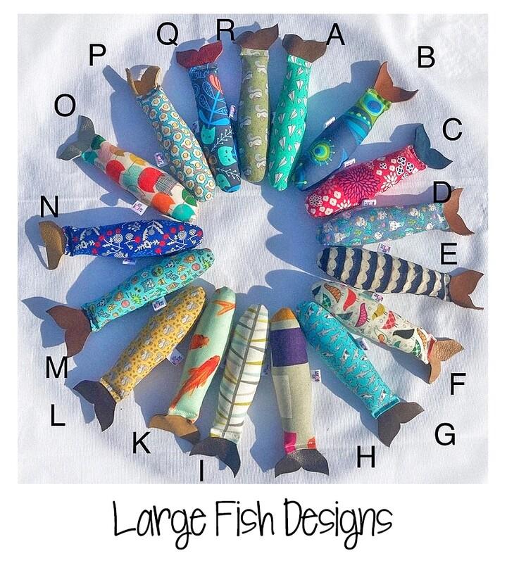 Large Catnip Fish