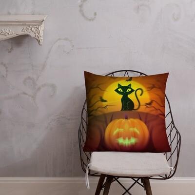 Premium Halloween Design Printed Pillow