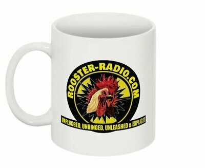 Official Rooster-Radio.com coffee mug