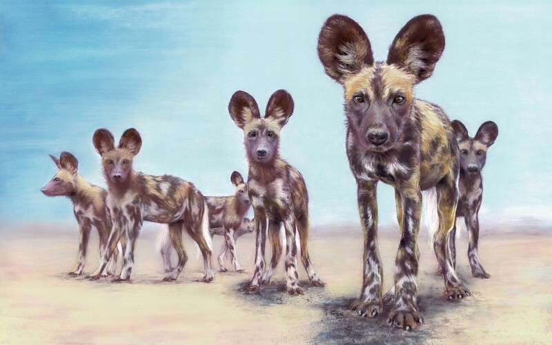'Painted Dogs 2'
