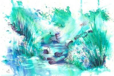 'Impromptu underwater'