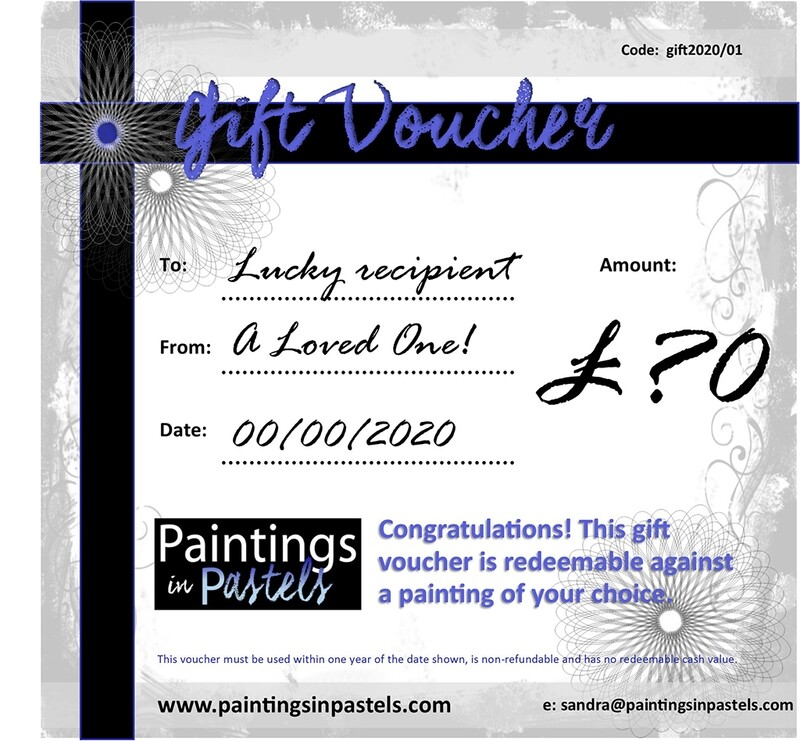 Paintings in Pastels Gift card