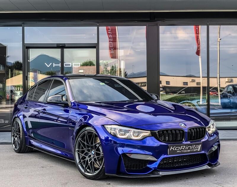 BMW M3 CS San Marino Blue Carbon 1 of 1200