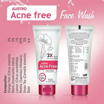 Acne Free Facewash