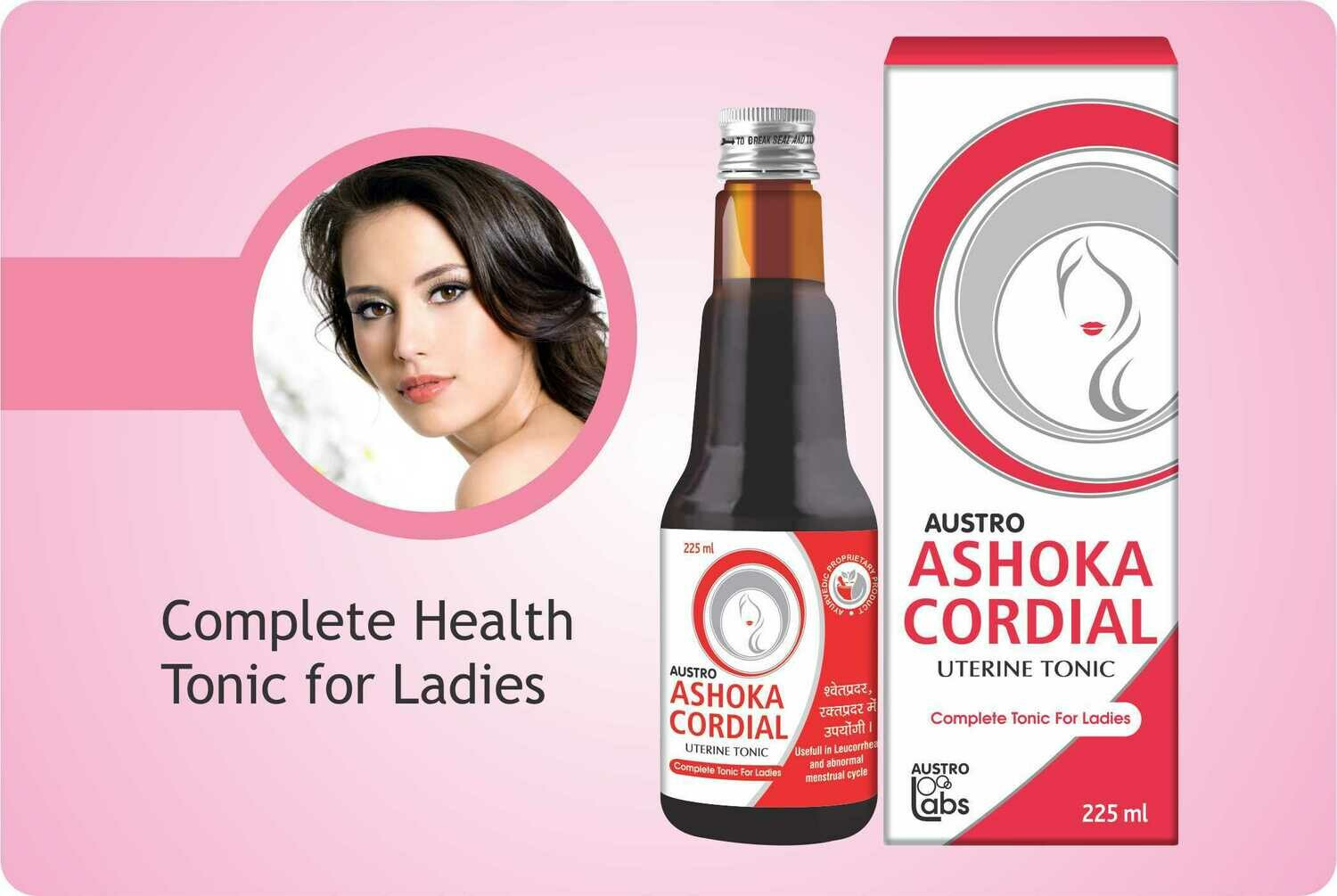 Austro Ashoka Cordial Uterine Tonic for Women