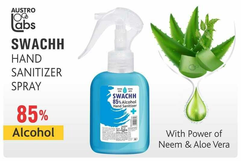 Austro Labs Swachh Hand Sanitizer (Spray)