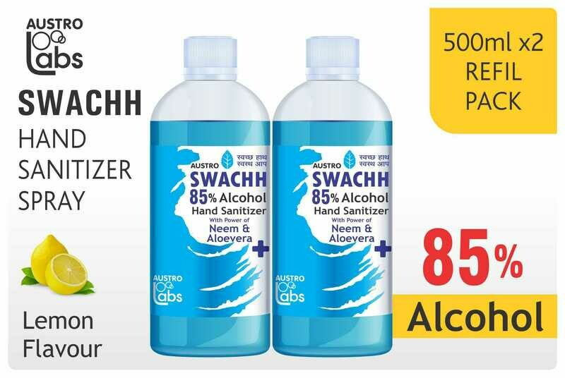 Austro Labs Swachh Hand Sanitizer Refill - Pack of 2
