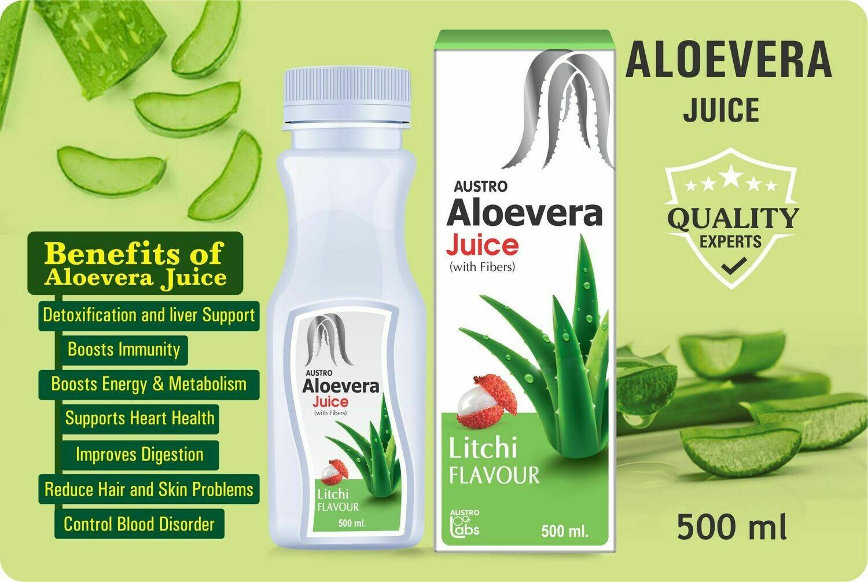 Aloe Vera Juice - Litchi Flavor