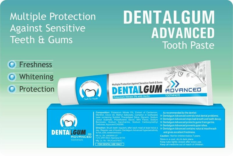 Dentalgum Advance Tooth Paste