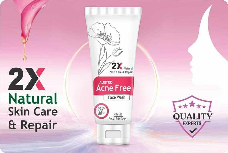Austro Acne Free Face Wash