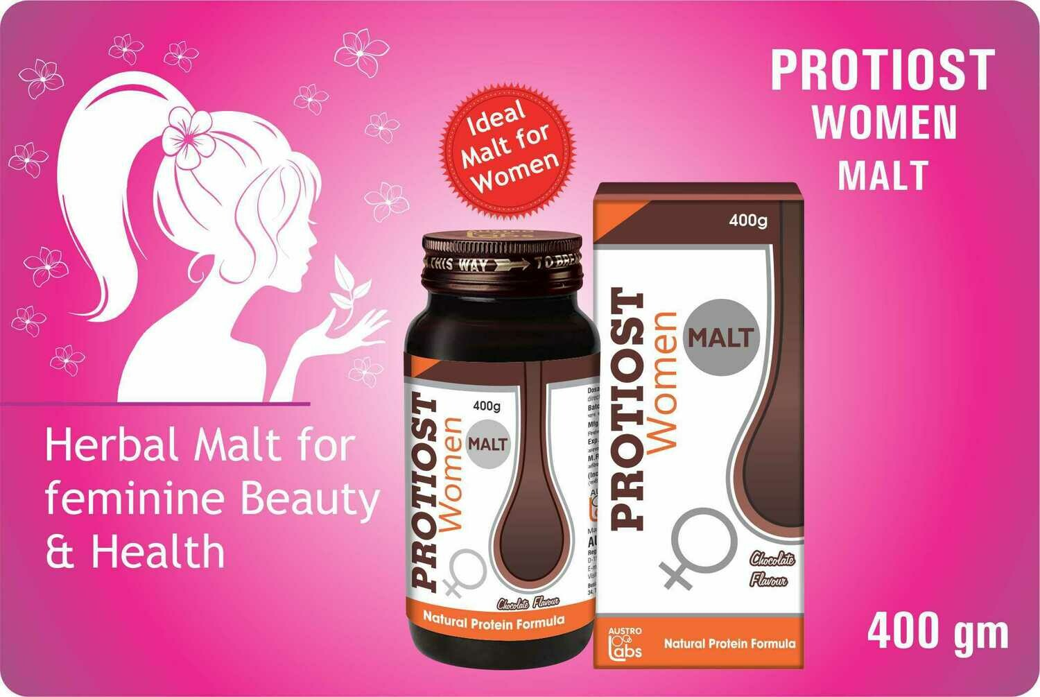 Protiost Malt for Women