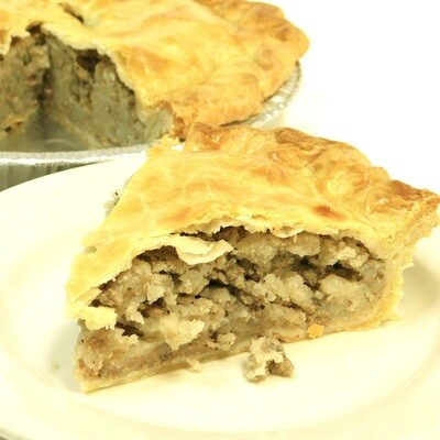 Tourtiere Pie Frozen