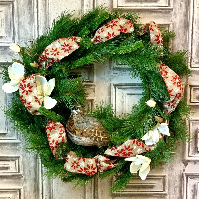Pheasant Wreath