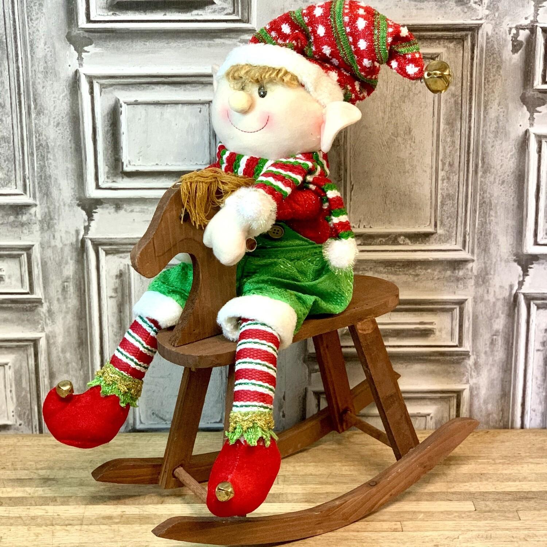 Rocking Elf Boy