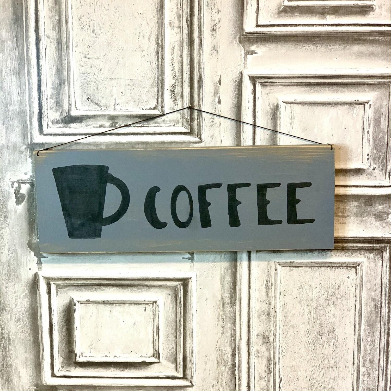 Wood Sign Coffee-2