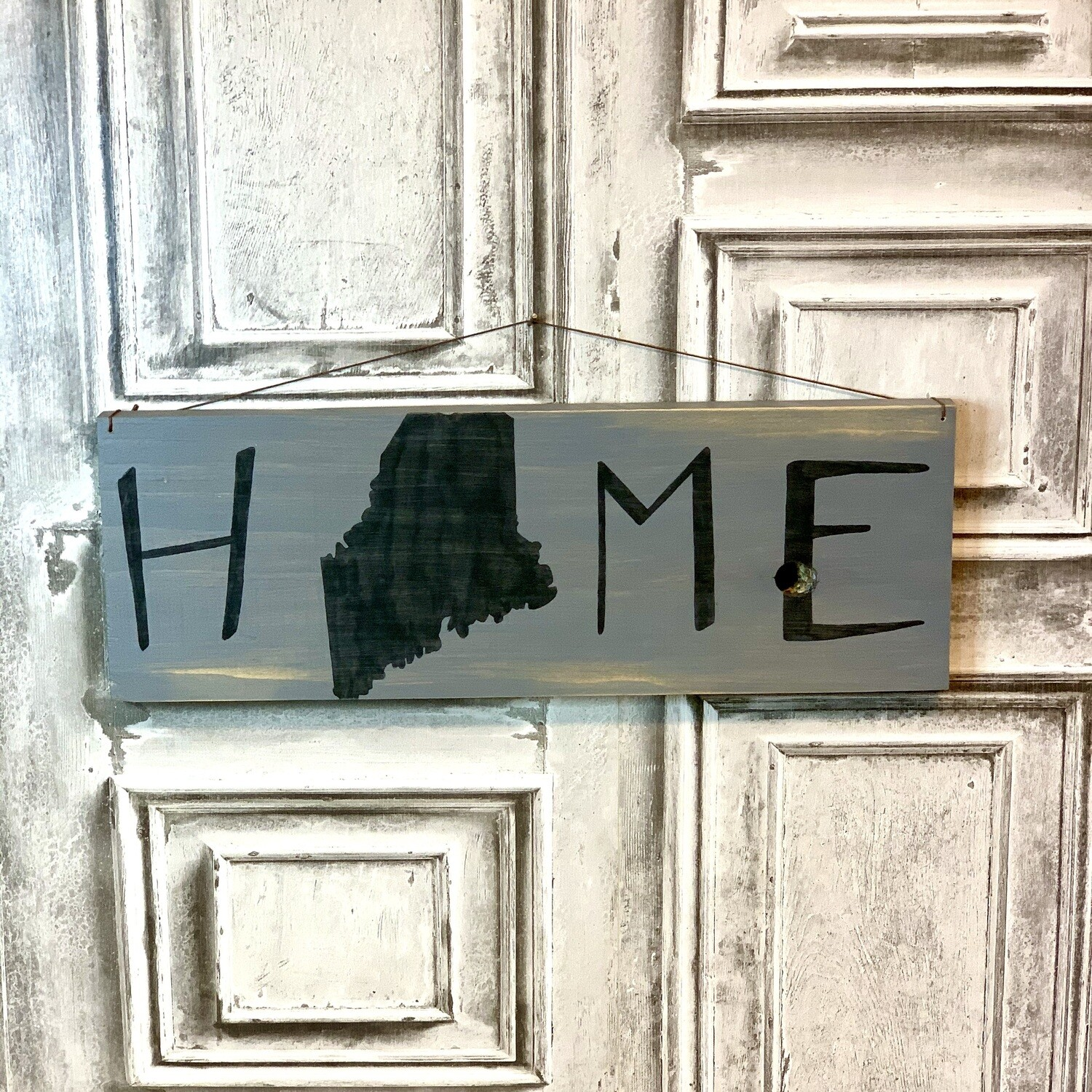 Wood Sign Home