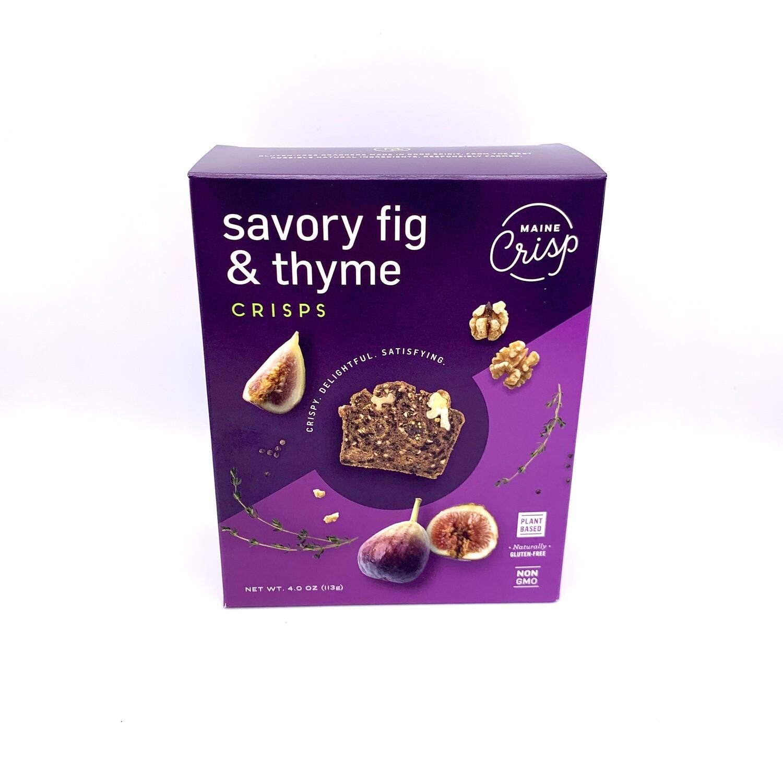 Savory Fig & Thyme Crisp