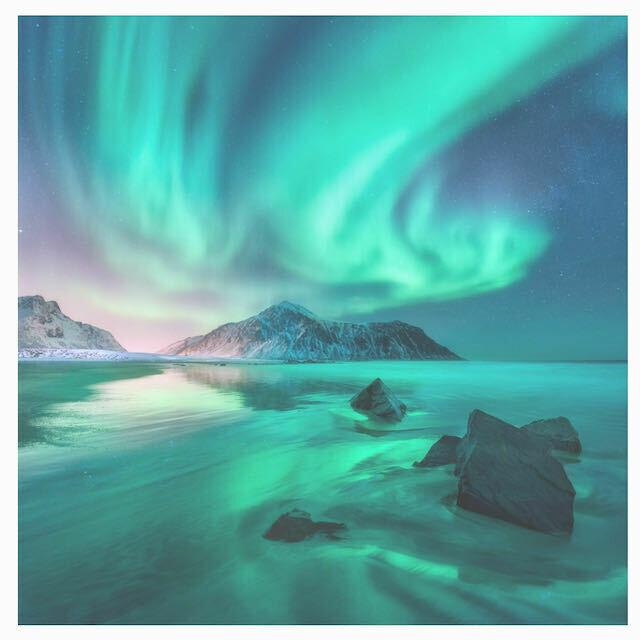 Aurora Borealis Puzzle