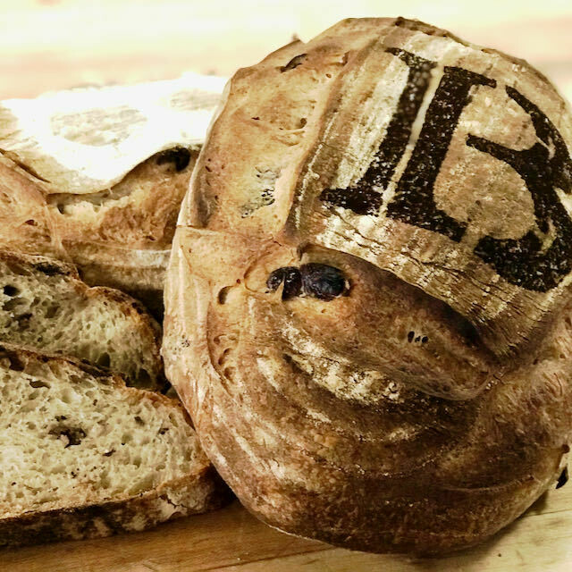 Olive and Thyme Sourdough
