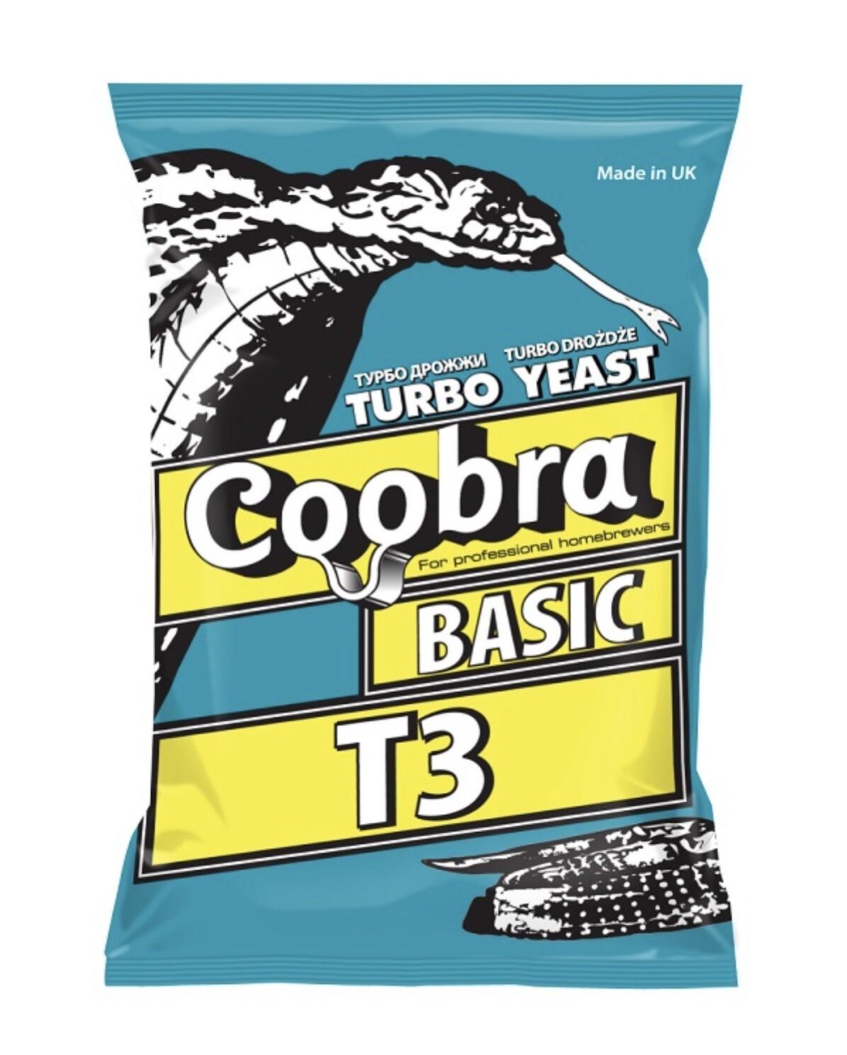 Трубо дрожжи сухие активные Coobra Basic T3