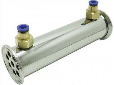 Дефлегматор LUXSTAHL, 8 трубок ∅12 мм, кламп 2