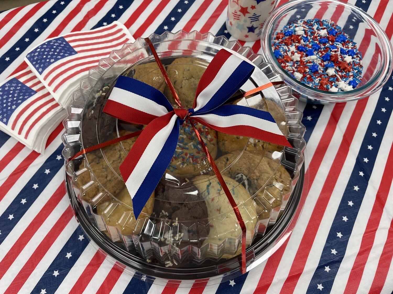 4th of July Platter - Dozen