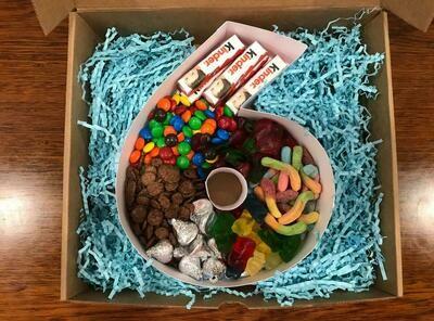 "Caja Candyland de letra o número 8"""