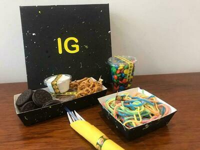 Caja de spaghetti