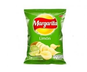 Papitas con sabor a limón (Paquete individual 25 gr)