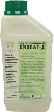 Антимикробный препарат Биопаг-Д, 1л.