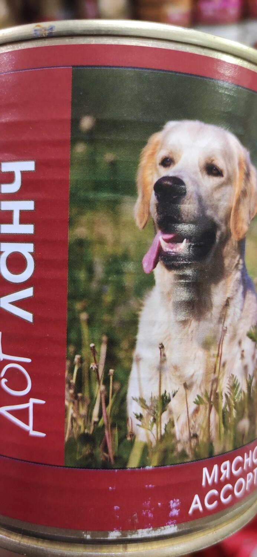 Консервы для собак ДогЛанч, Мясное ассорти