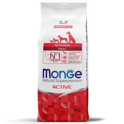 Monge Dog Active собак всех пород с повышенной физической нагрузкой