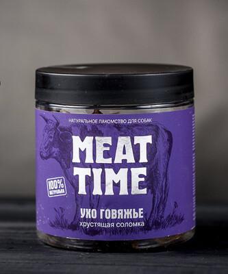 УХО НАРУЖНОЕ MEAT TIME, мелкая соломка, 50гр.